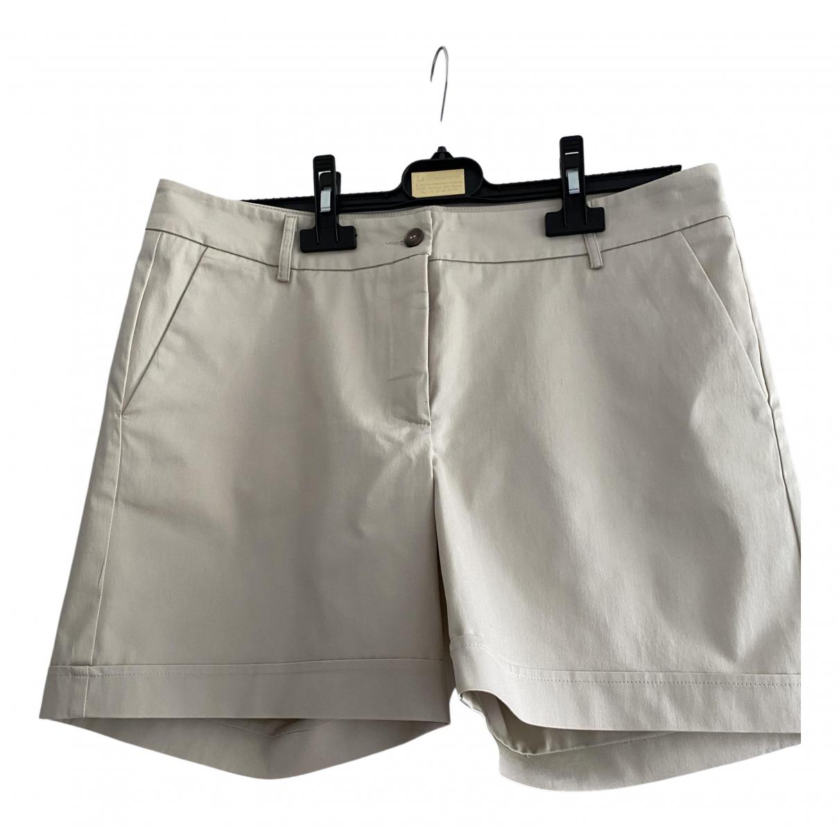 Non Signe / Unsigned \N Shorts in  Beige Baumwolle