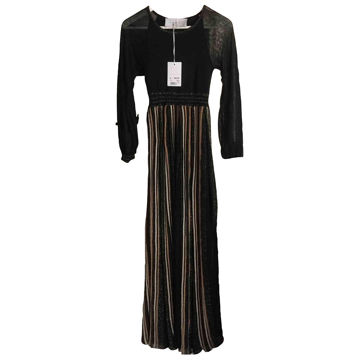 Ne.net \N Kleid in  Gold Kaschmir