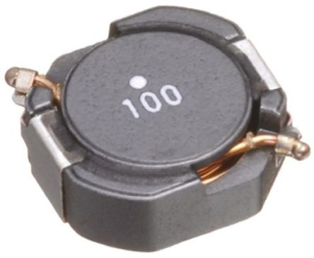 TDK , CLF, 12555 Shielded Wire-wound SMD Inductor with a Ferrite Core, 1.5 μH ±30% Wire-Wound 16.4A Idc (5)