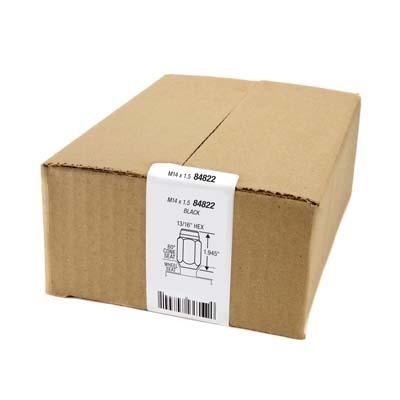 McGard 84822 8 Lug Hex Install Kit w/Locks (Cone Seat Nut) M14X1.5 / 13/16 Hex / 1.945in. Length - Black