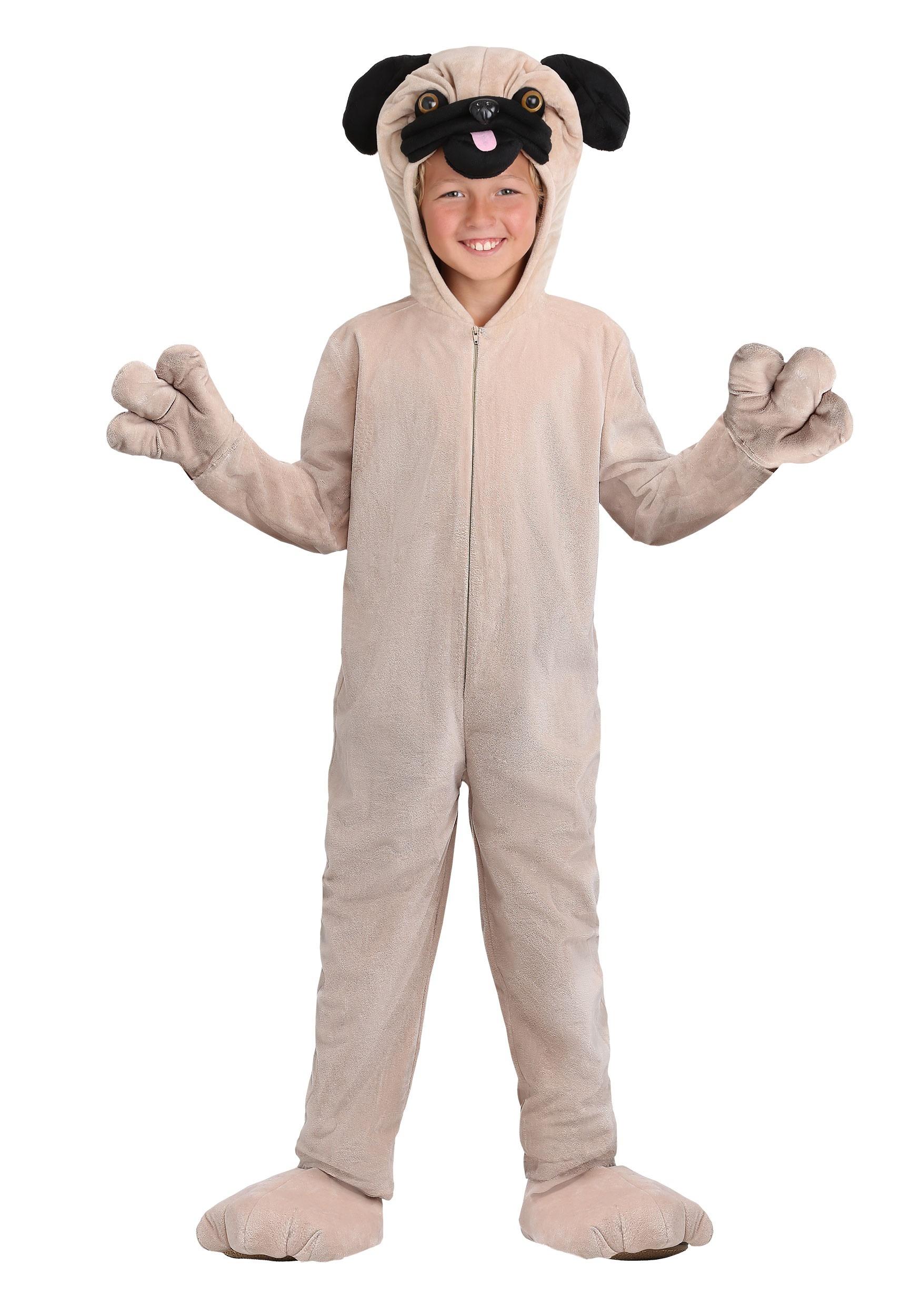 Pug Costume for Kids