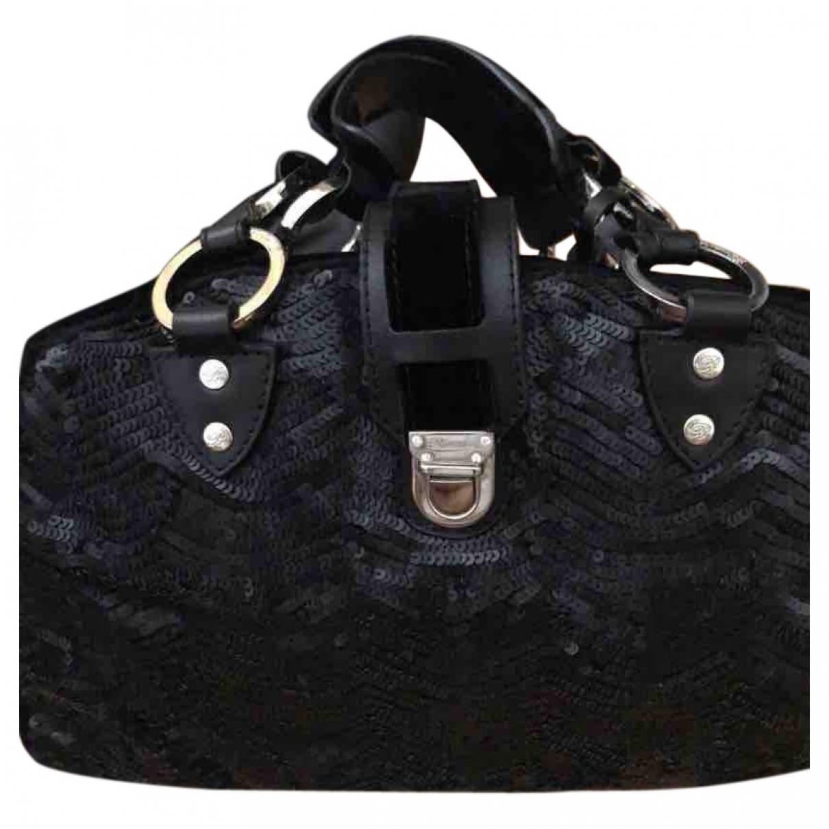 Blumarine \N Handtasche in  Schwarz Mit Pailletten