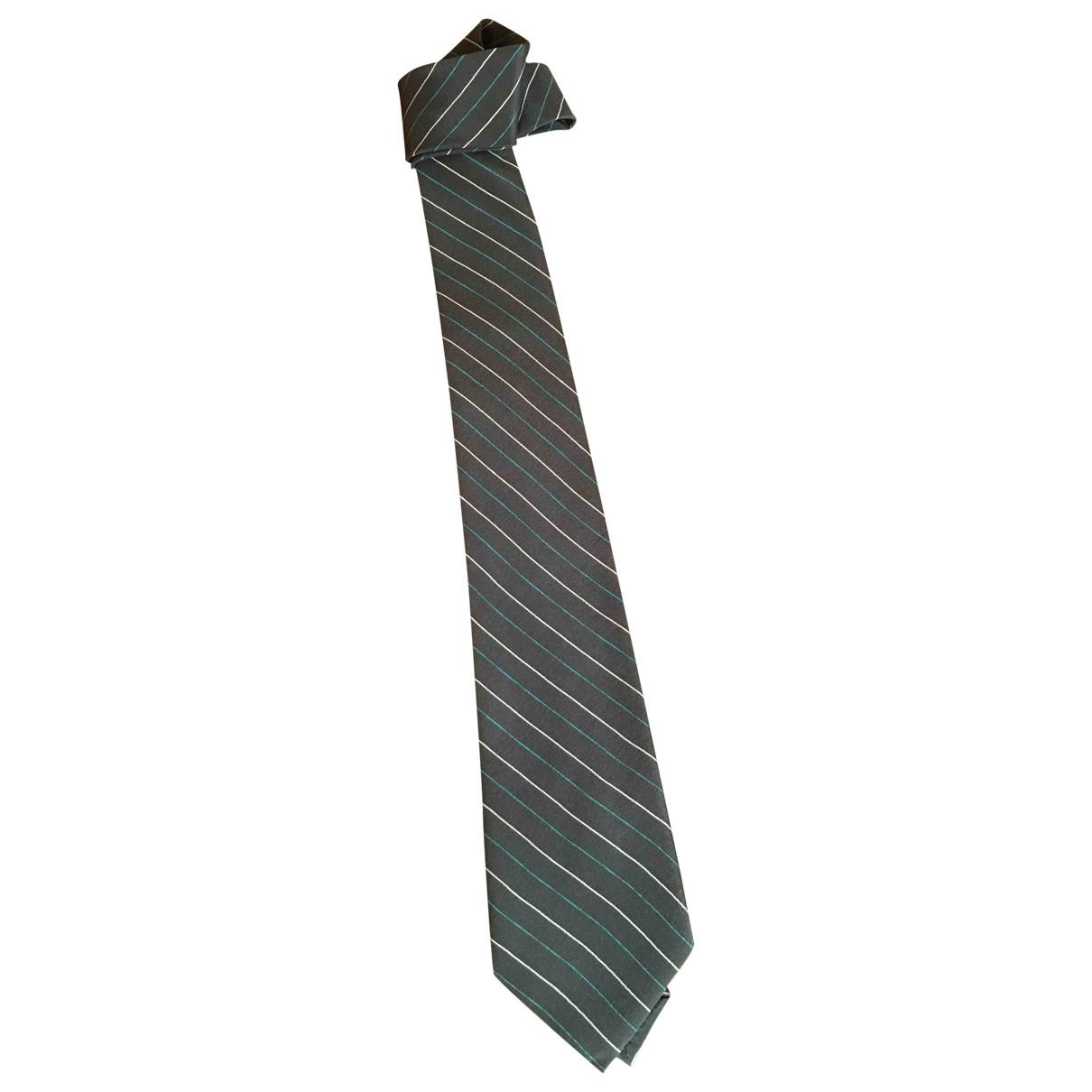 Ermenegildo Zegna \N Grey Silk Ties for Men \N