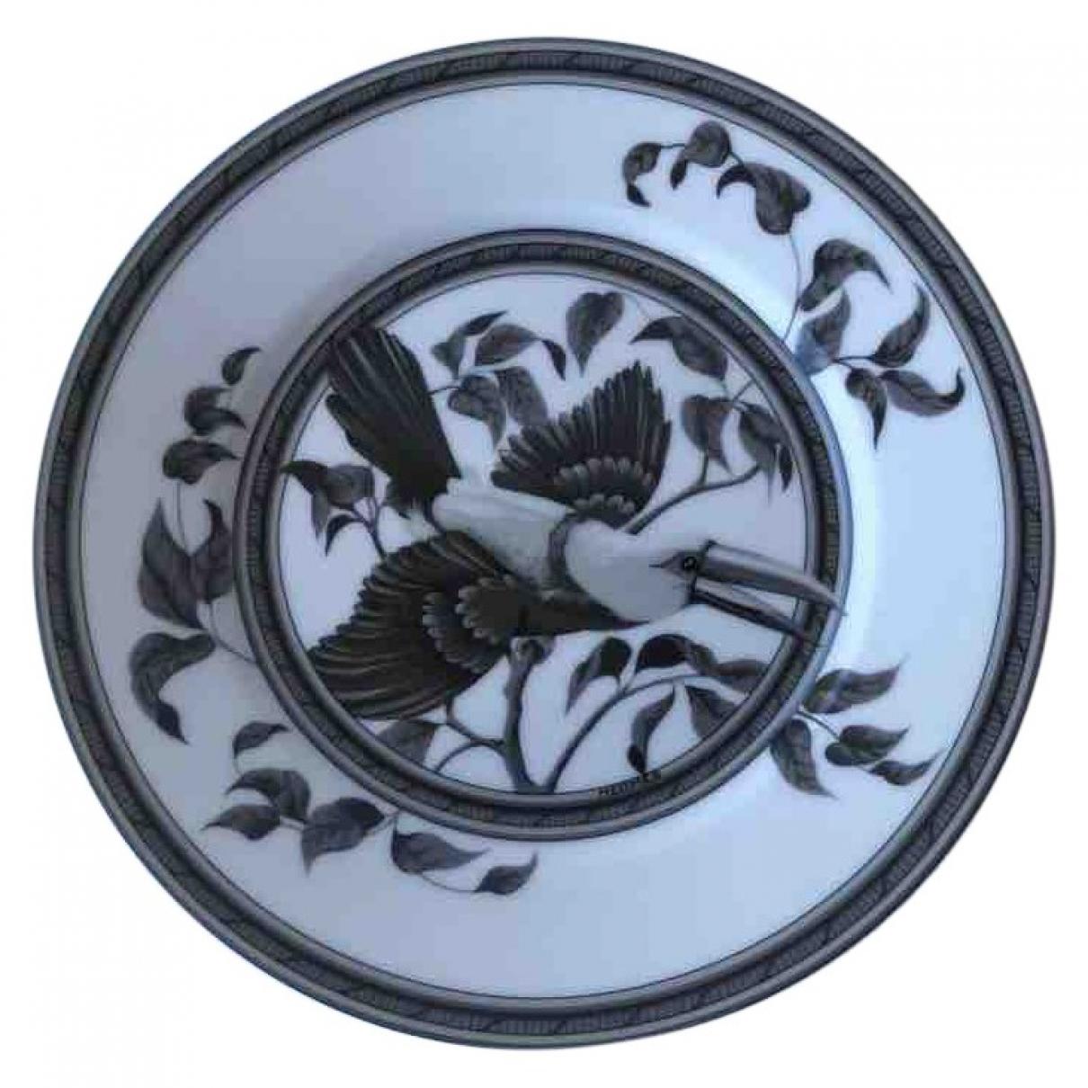 Plato Toucans de Ceramica Hermes