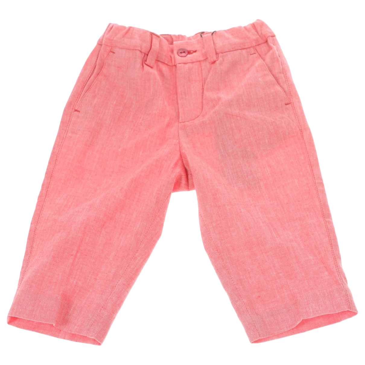 Dolce & Gabbana \N Pink Cotton Trousers for Kids 9 months - until 28 inches UK