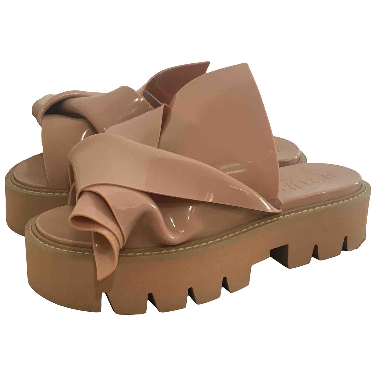 N°21 - Sandales   pour femme - rose