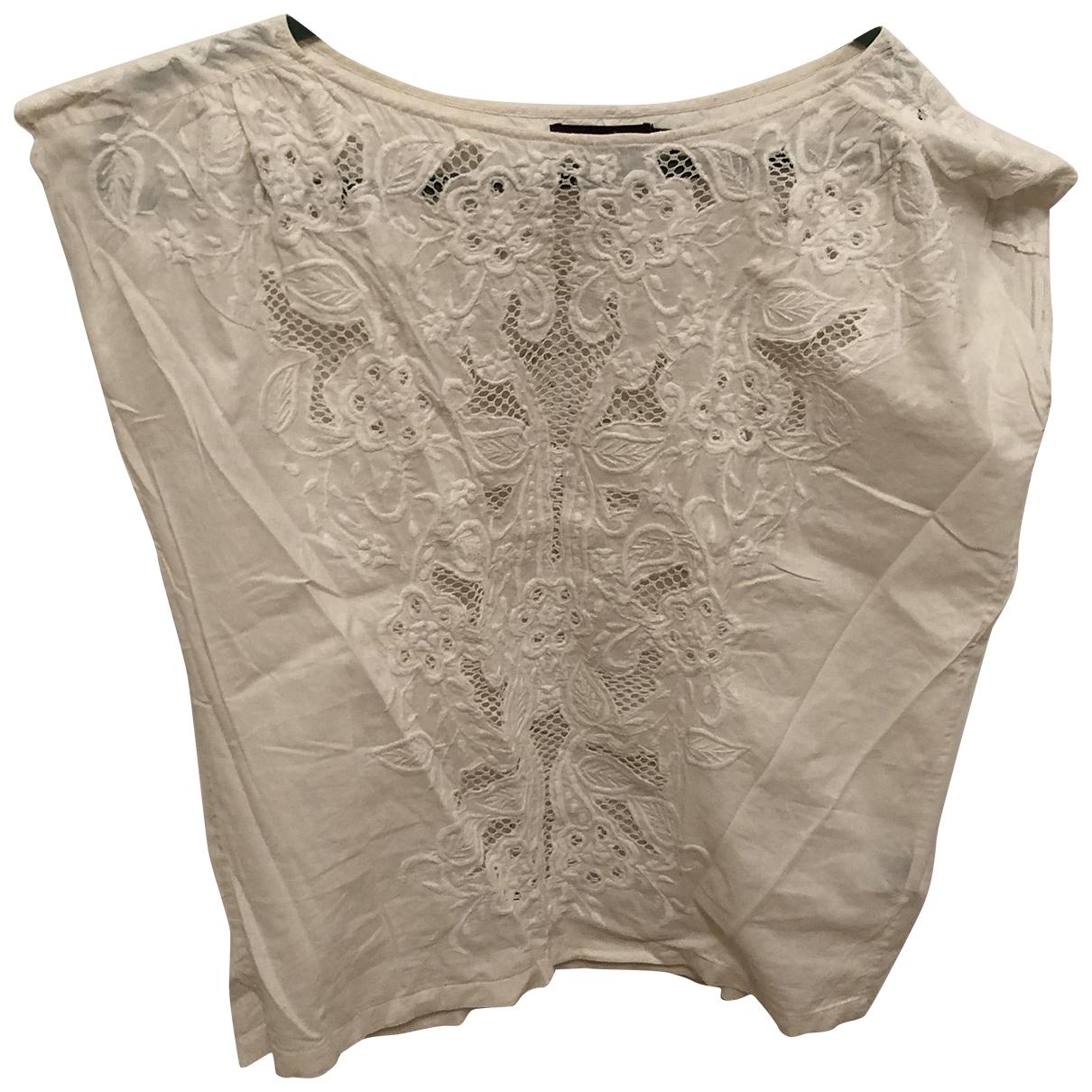 Antik Batik \N Top in  Beige Baumwolle