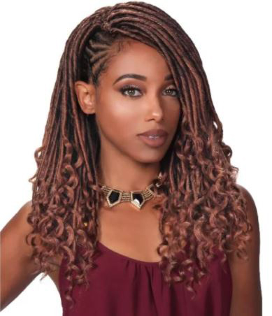 Goddess Braid Loop Crochet Locs Deep Curl