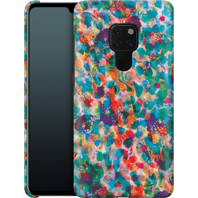 Huawei Mate 20 Smartphone Huelle - Floral Texture von Amy Sia