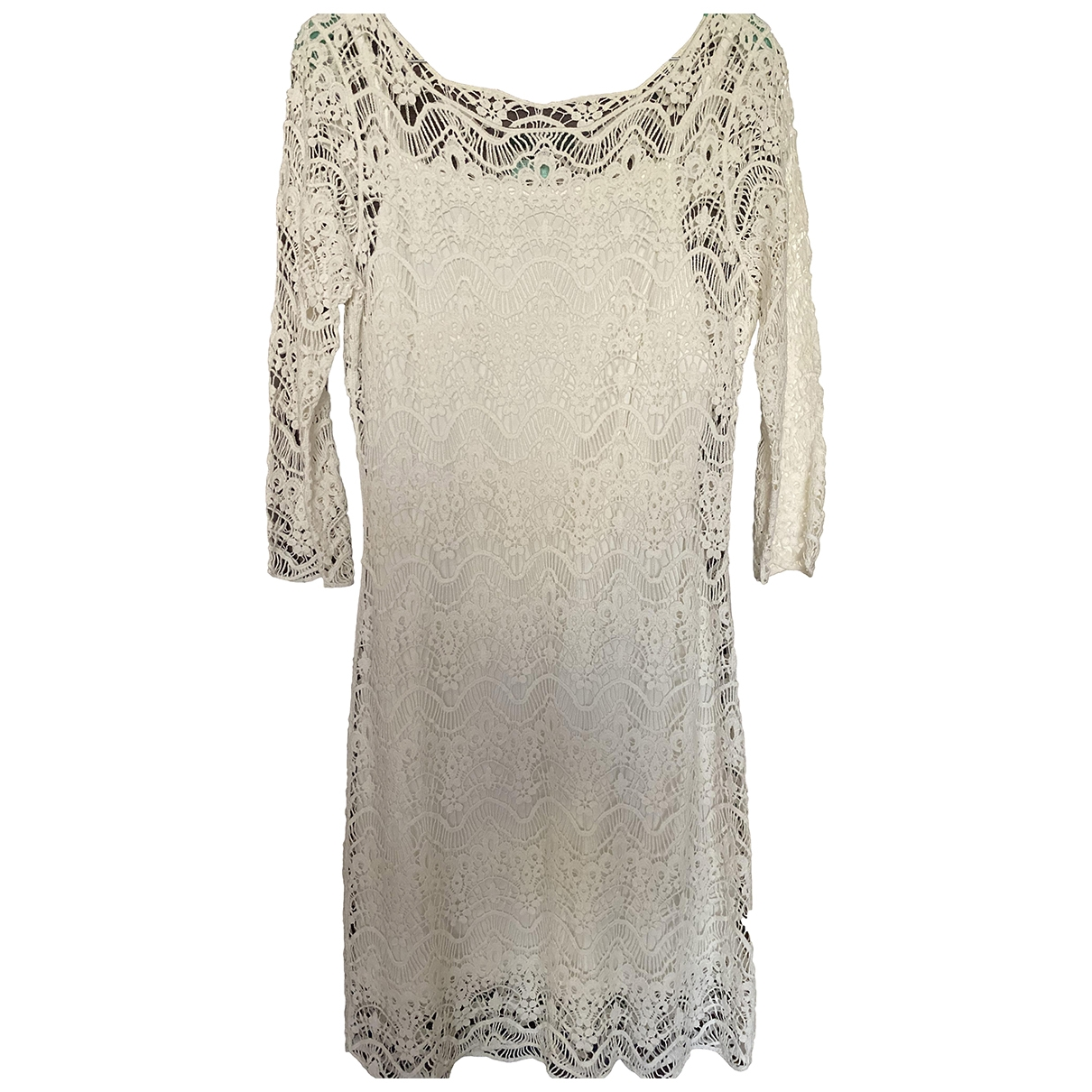Lauren Ralph Lauren - Robe   pour femme - blanc