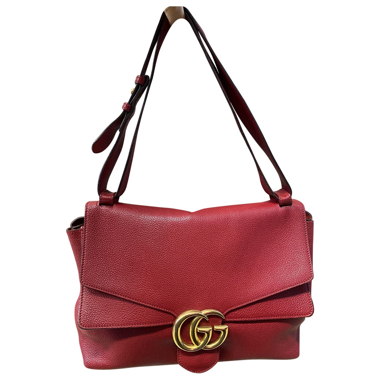Gucci Marmont Red Leather handbag for Women N