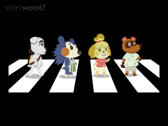 Animals Crossing T Shirt
