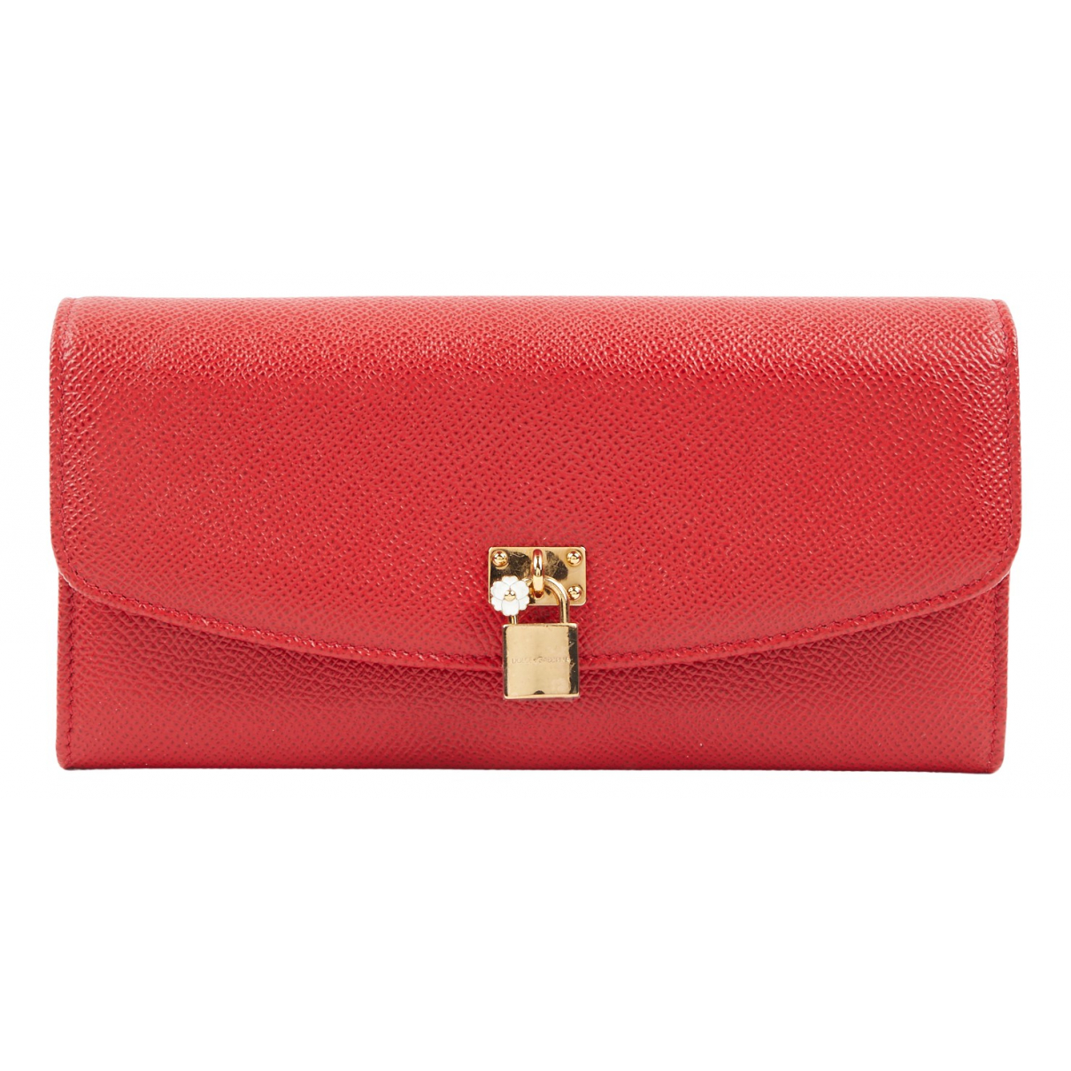 Dolce & Gabbana N Red Leather Purses, wallet & cases for Women N
