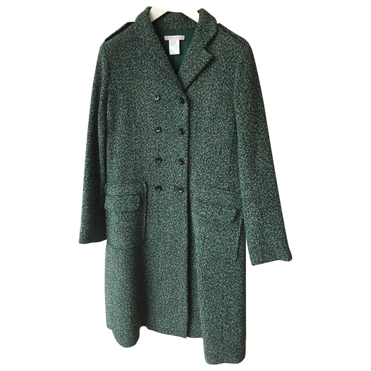 Paul & Joe Sister - Manteau   pour femme en laine - vert