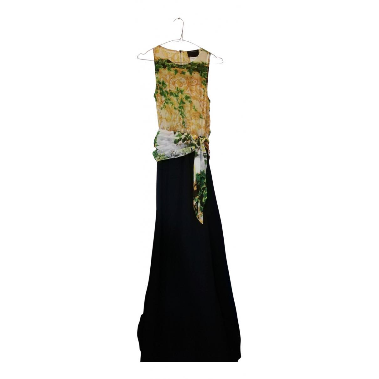 Roberto Cavalli \N Kleid in  Bunt Viskose