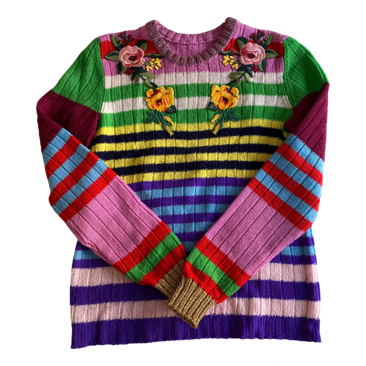 Gucci \N Pullover in  Bunt Wolle