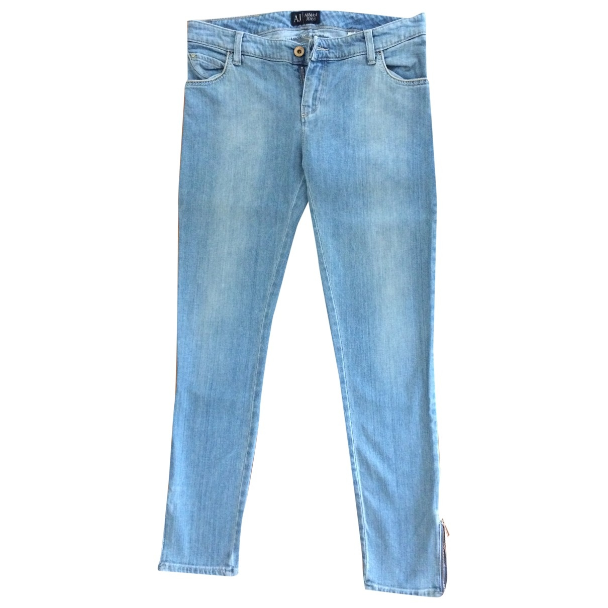 Armani Jeans \N Cotton - elasthane Jeans for Women 27 US