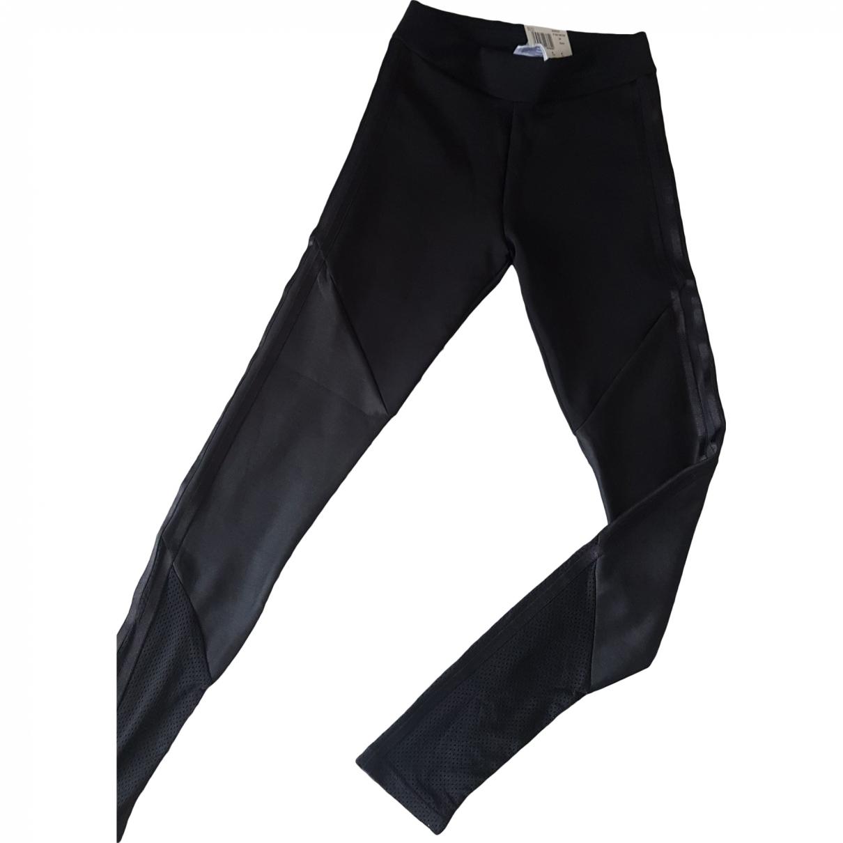 Adidas \N Black Trousers for Women XXS International