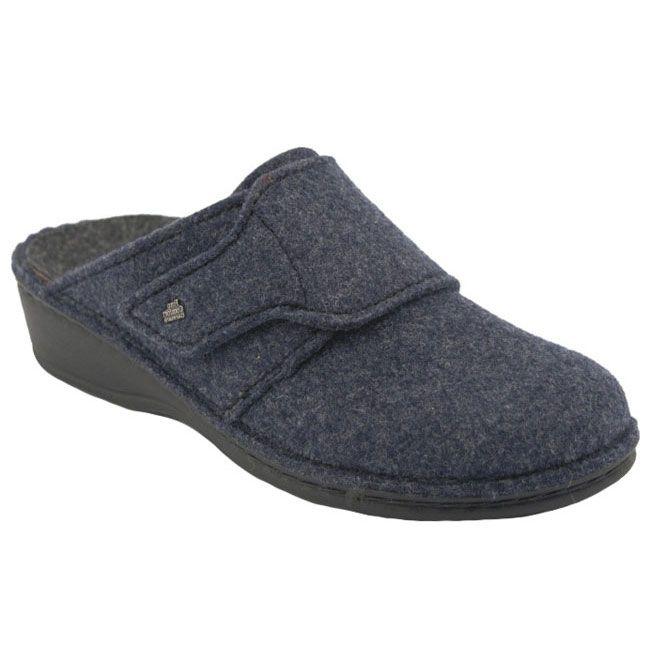 Finn Comfort Andermatt Dark Blue Wool 39