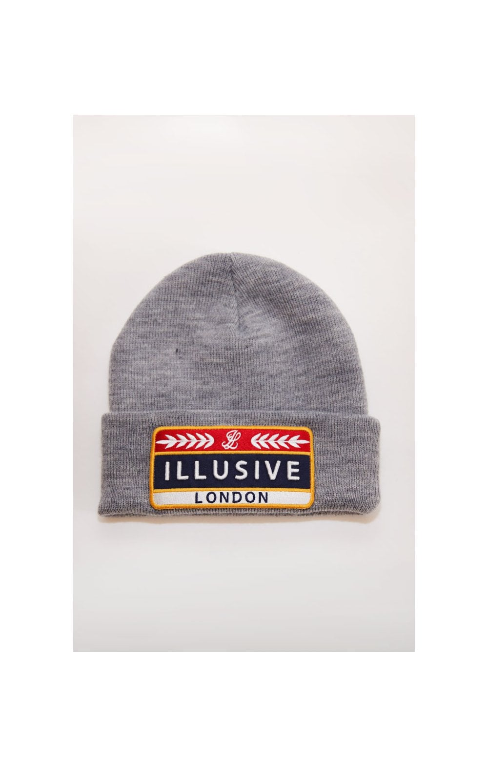 Illusive London Patch Beanie - Grey