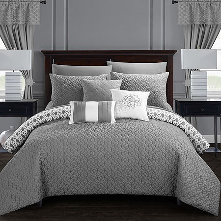 Chic Home Sigal 20-pc. Comforter Set, One Size , Gray