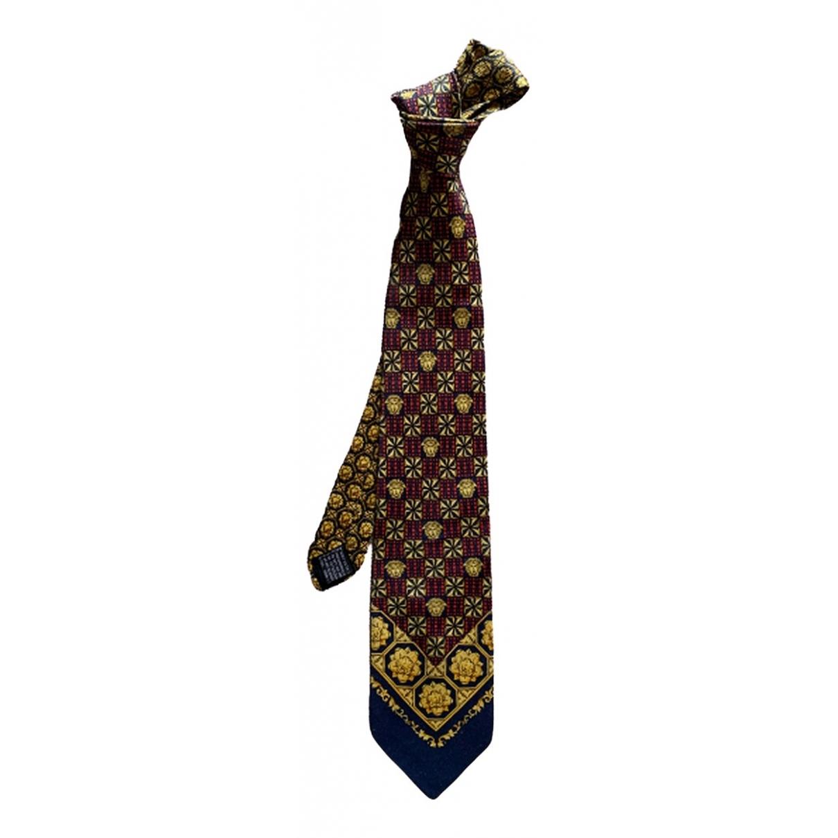 Versus - Cravates   pour homme en soie - multicolore