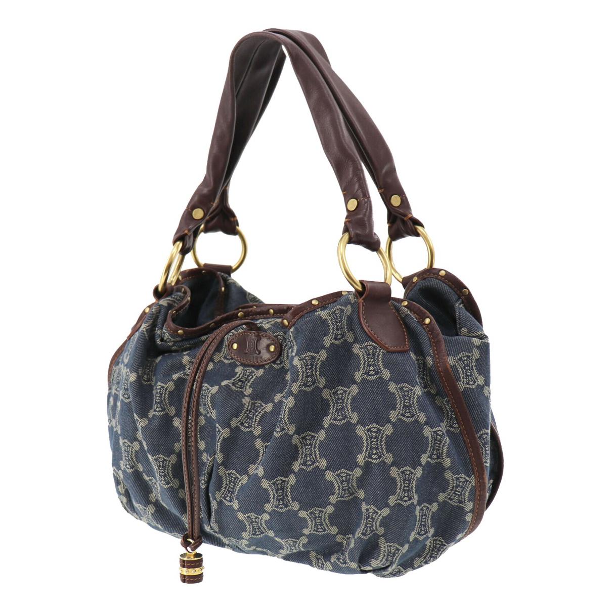 Celine \N Blue Cloth handbag for Women \N