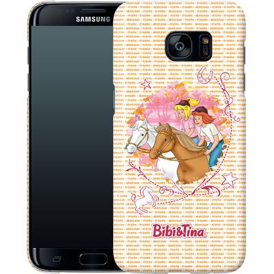 Samsung Galaxy S7 Edge Smartphone Huelle - Bibi und Tina Abenteuer von Bibi & Tina