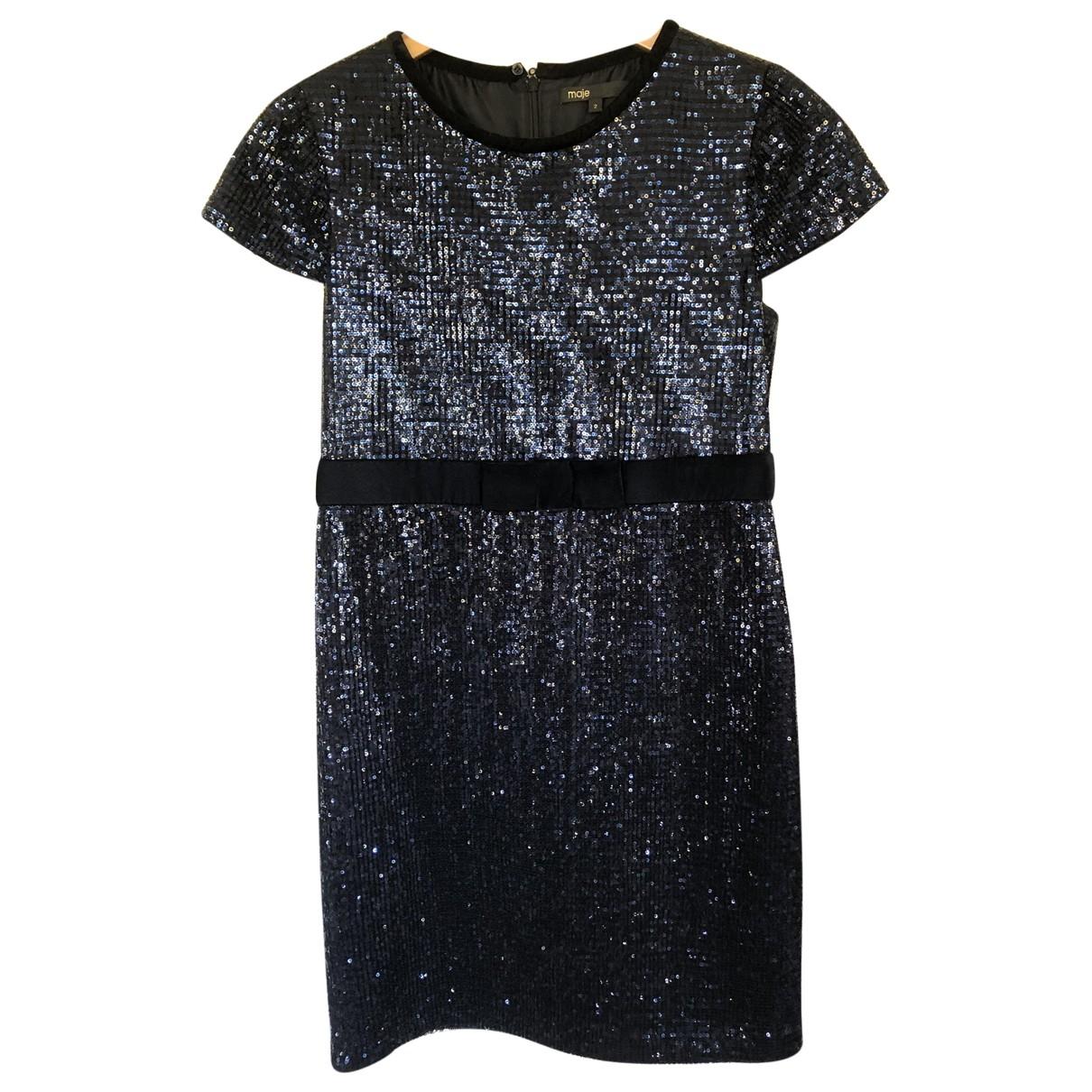 Mini vestido de Con lentejuelas Maje