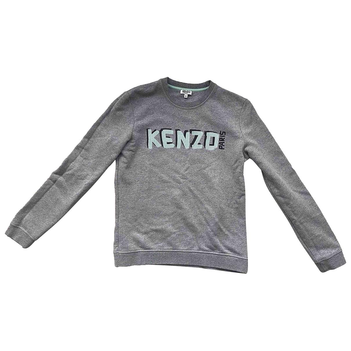 Kenzo \N Top in  Grau Baumwolle
