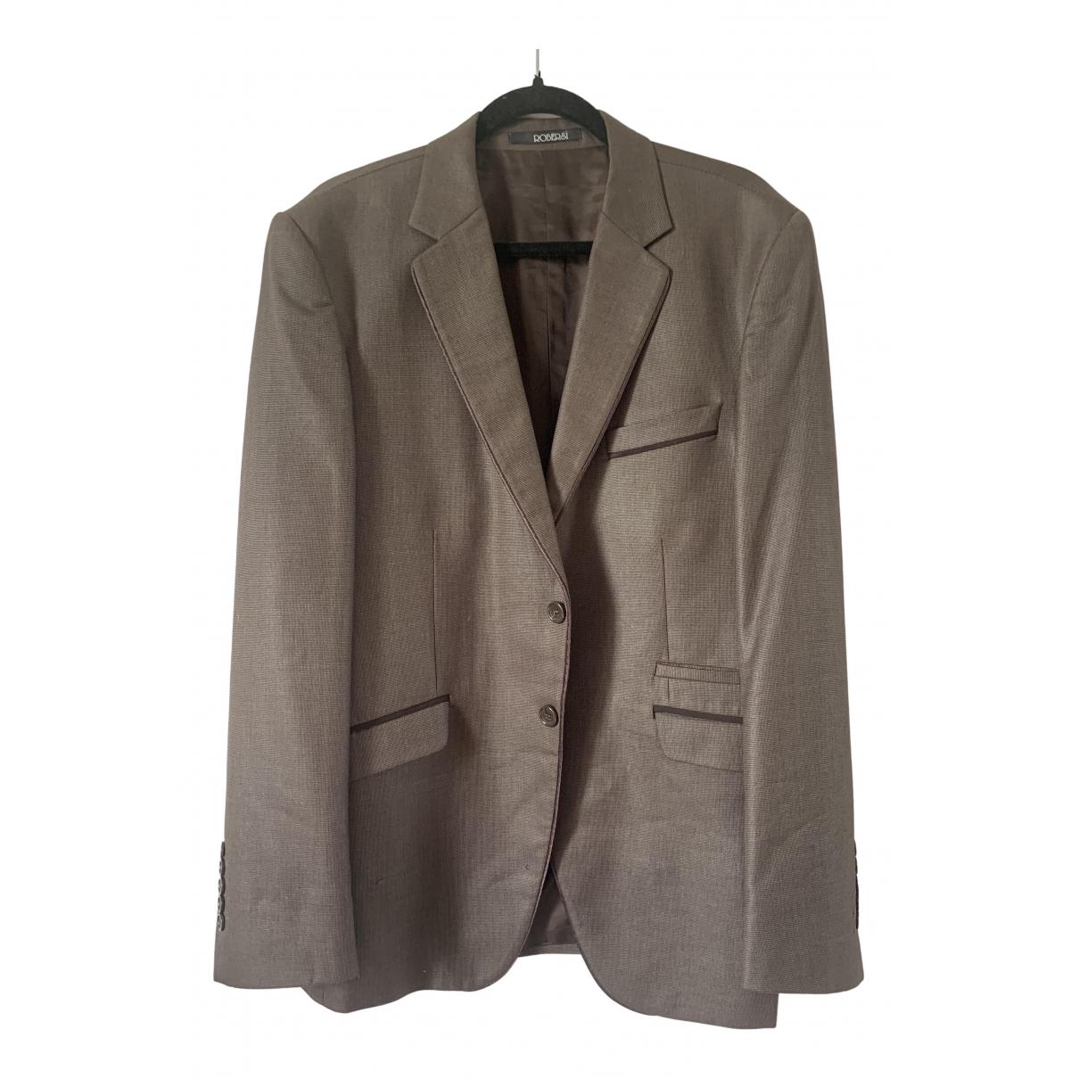 - Vestes.Blousons   pour homme en laine - marron