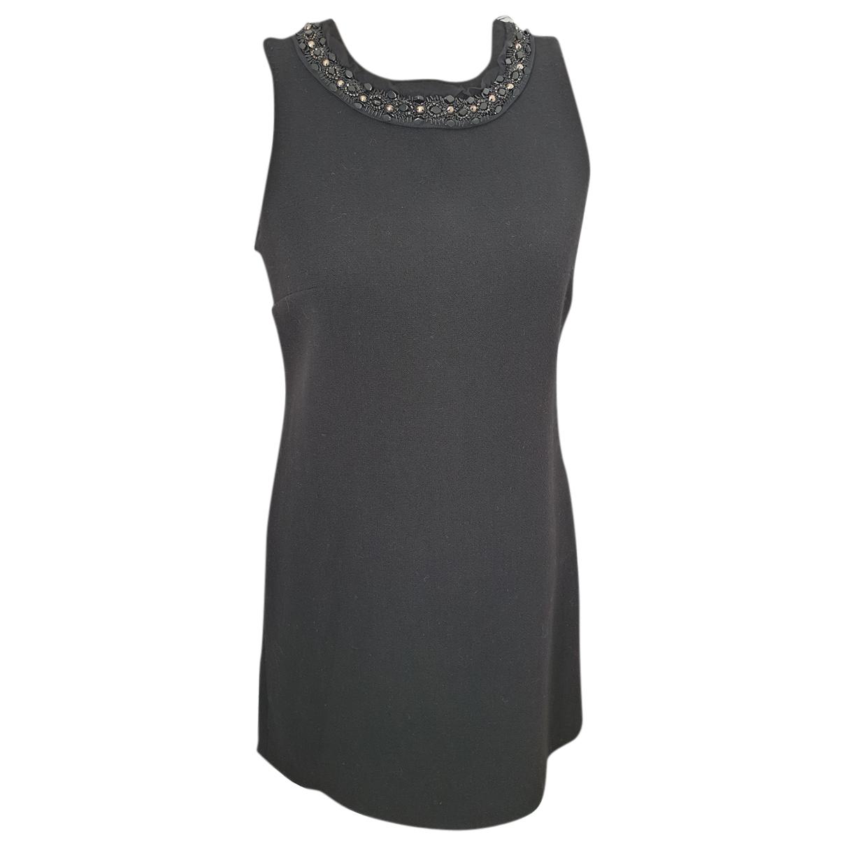 Parosh - Robe   pour femme en laine - noir