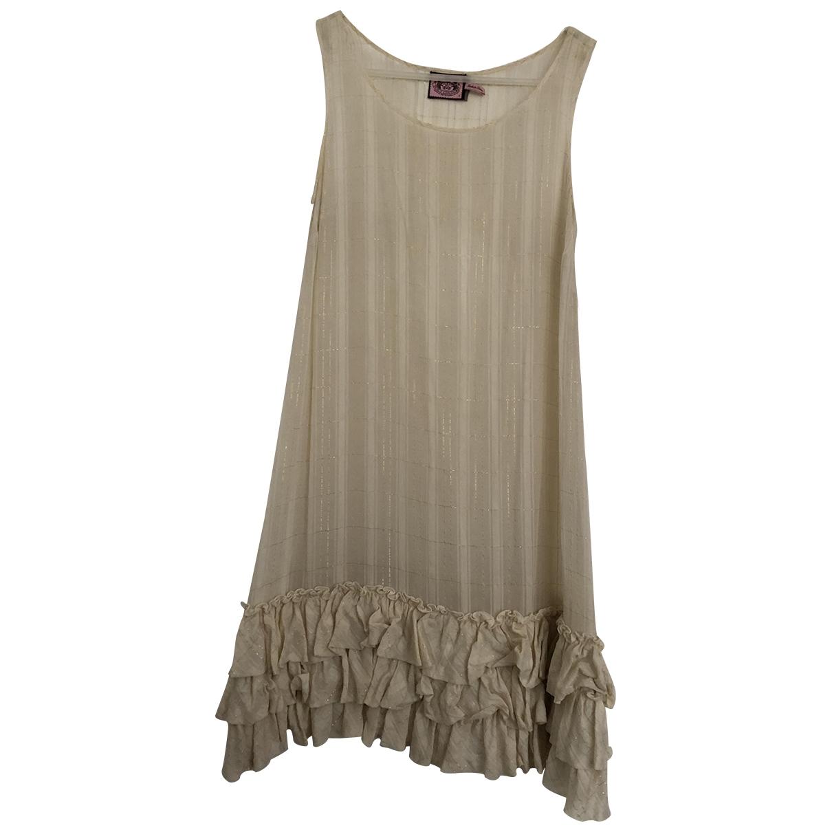 Vestido midi de Seda Juicy Couture