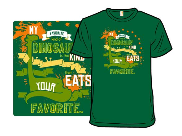 My Favorite Dinosaur T Shirt