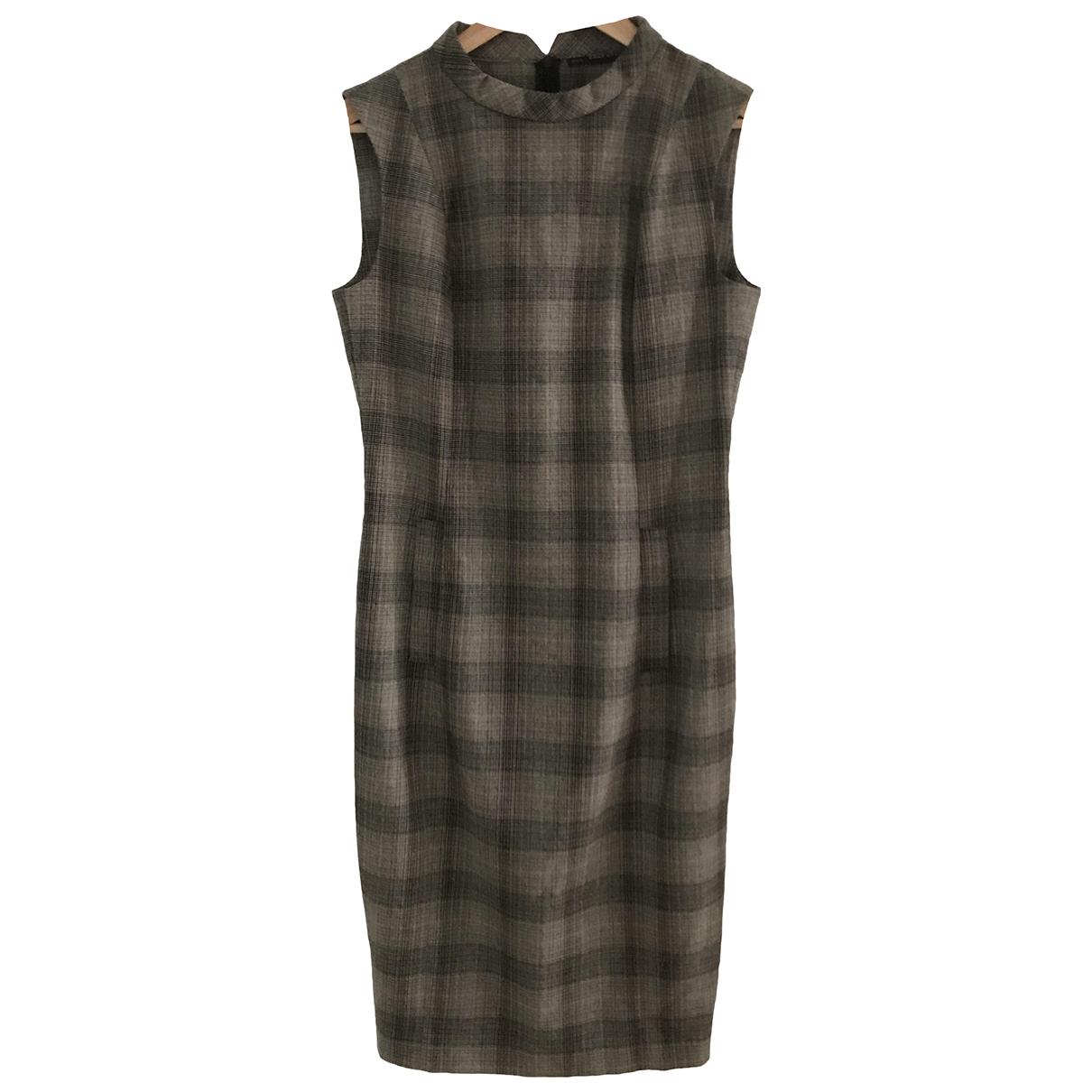 Zara \N Kleid in  Bunt Wolle