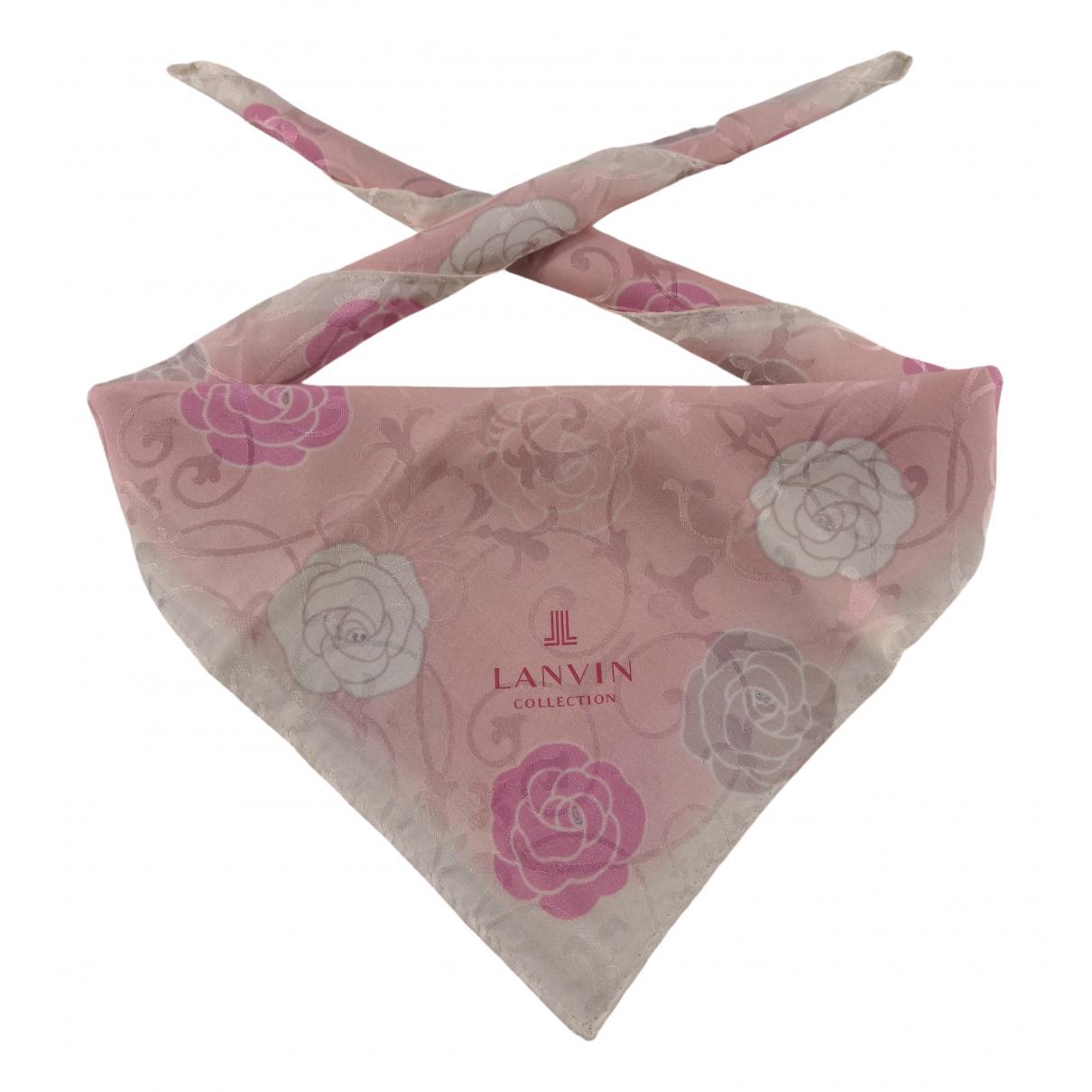 Lanvin - Foulard   pour femme en autre