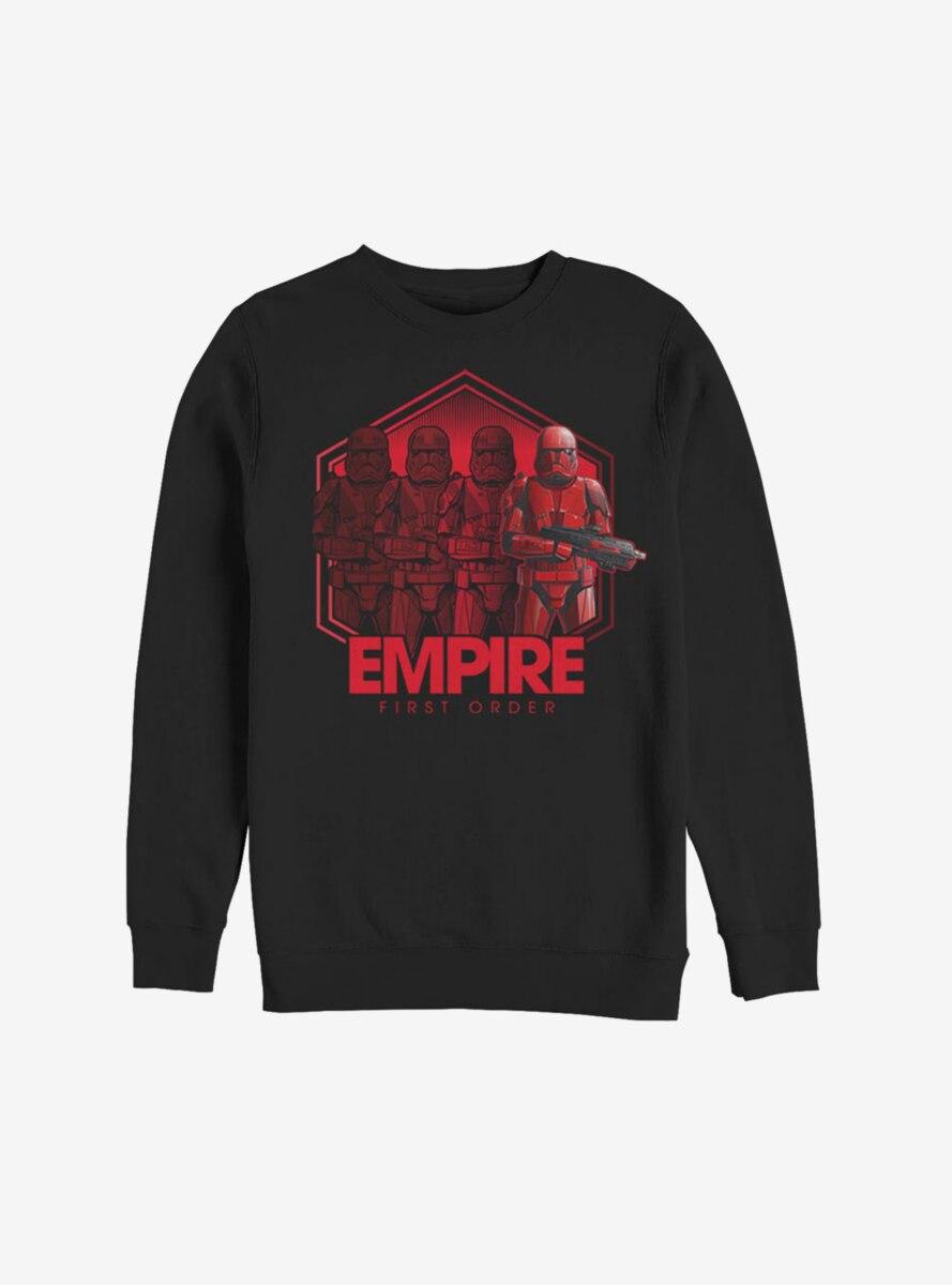 Star Wars Episode IX The Rise Of Skywalker Red Troop Four Sweatshirt