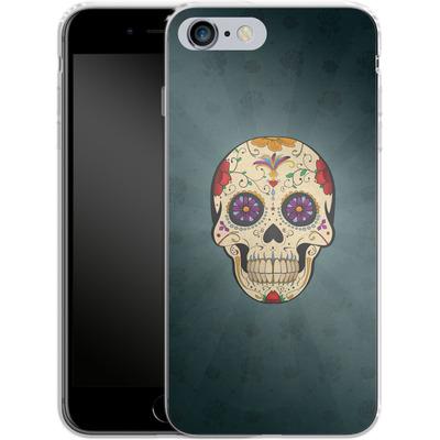Apple iPhone 6s Plus Silikon Handyhuelle - Dia de Muertos von SONY