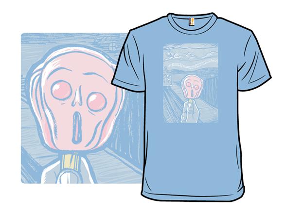 I Scream, Man T Shirt