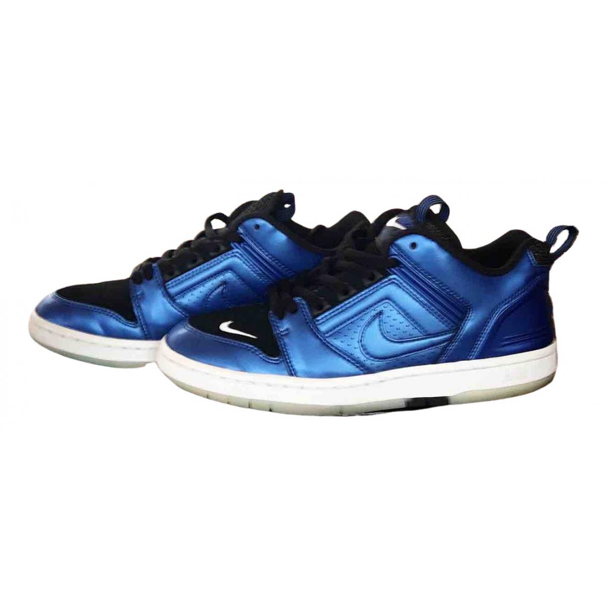 Nike \N Sneakers in  Bunt Leder