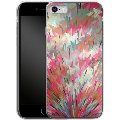 Apple iPhone 6 Silikon Handyhuelle - Black Pigment Explosion von Danny Ivan
