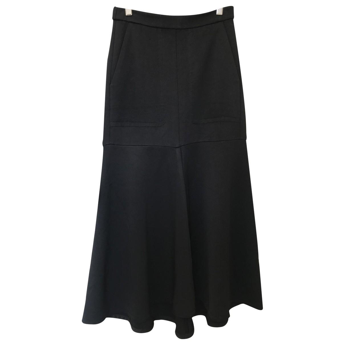 Tibi - Jupe   pour femme en soie - noir