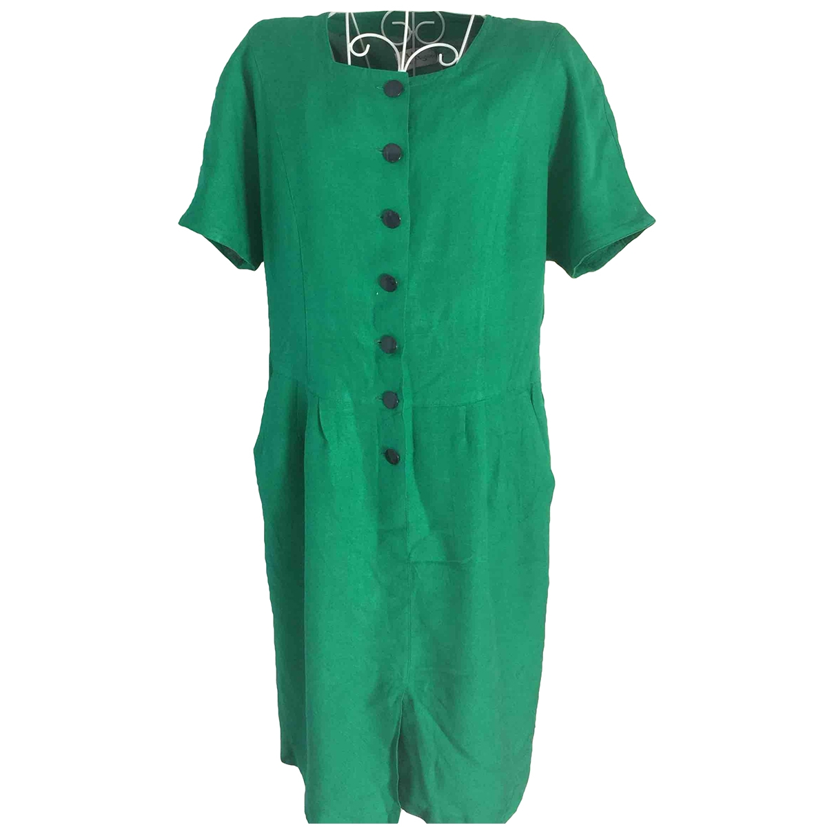 Non Signé / Unsigned \N Green dress for Women 44 IT