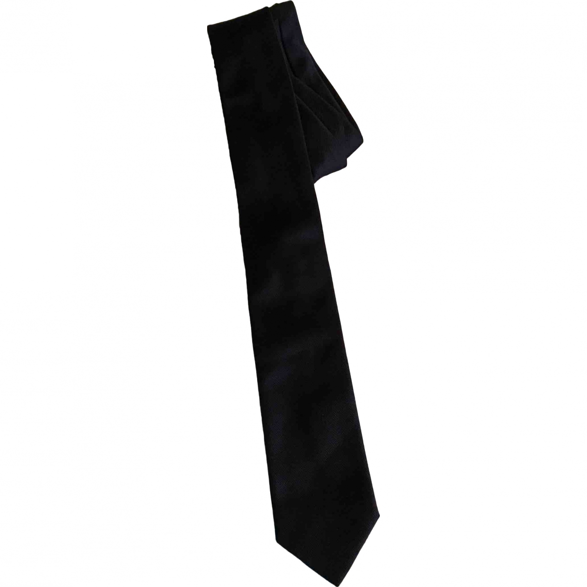 Boss \N Krawatten in  Blau Seide
