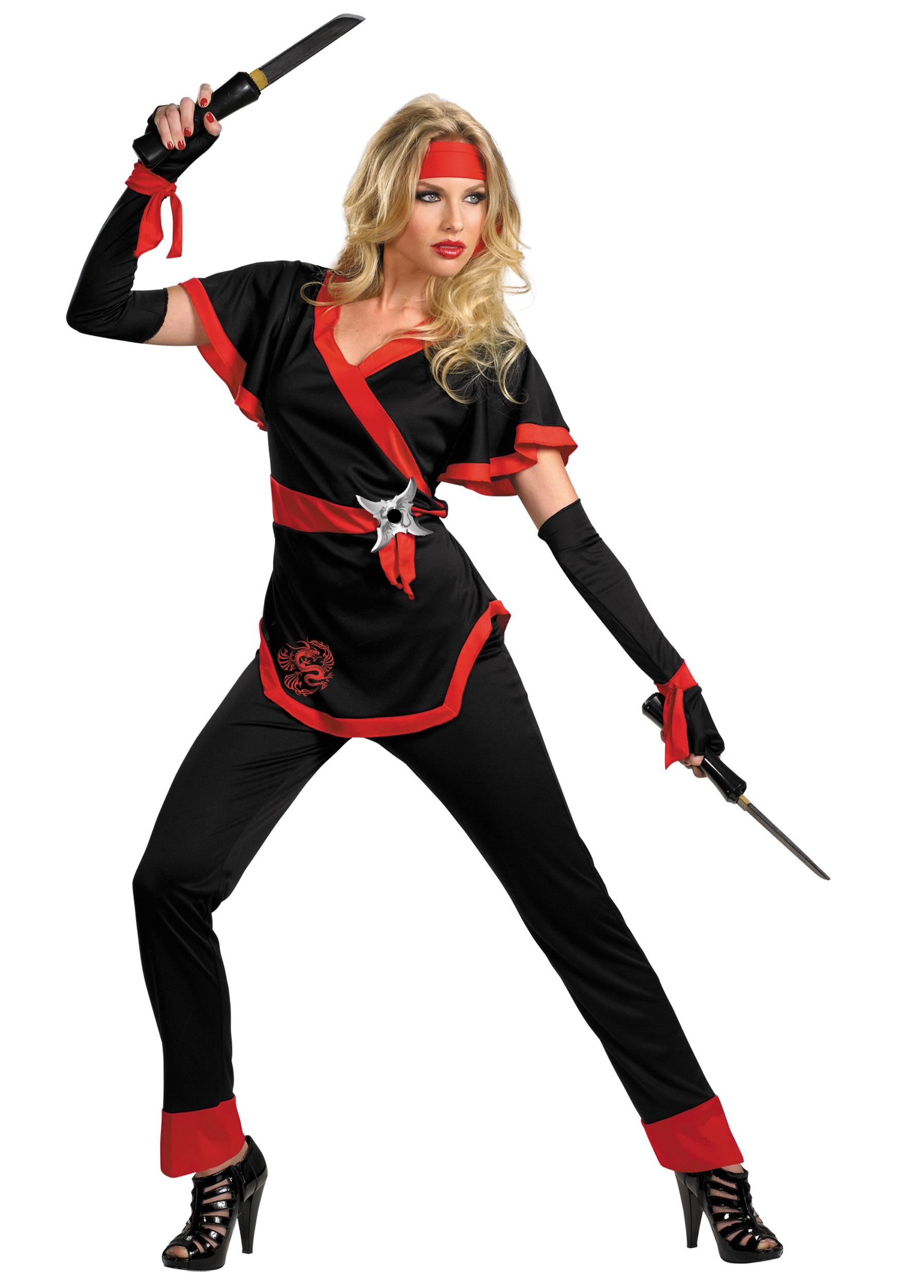 Dragon Lady Ninja Costume