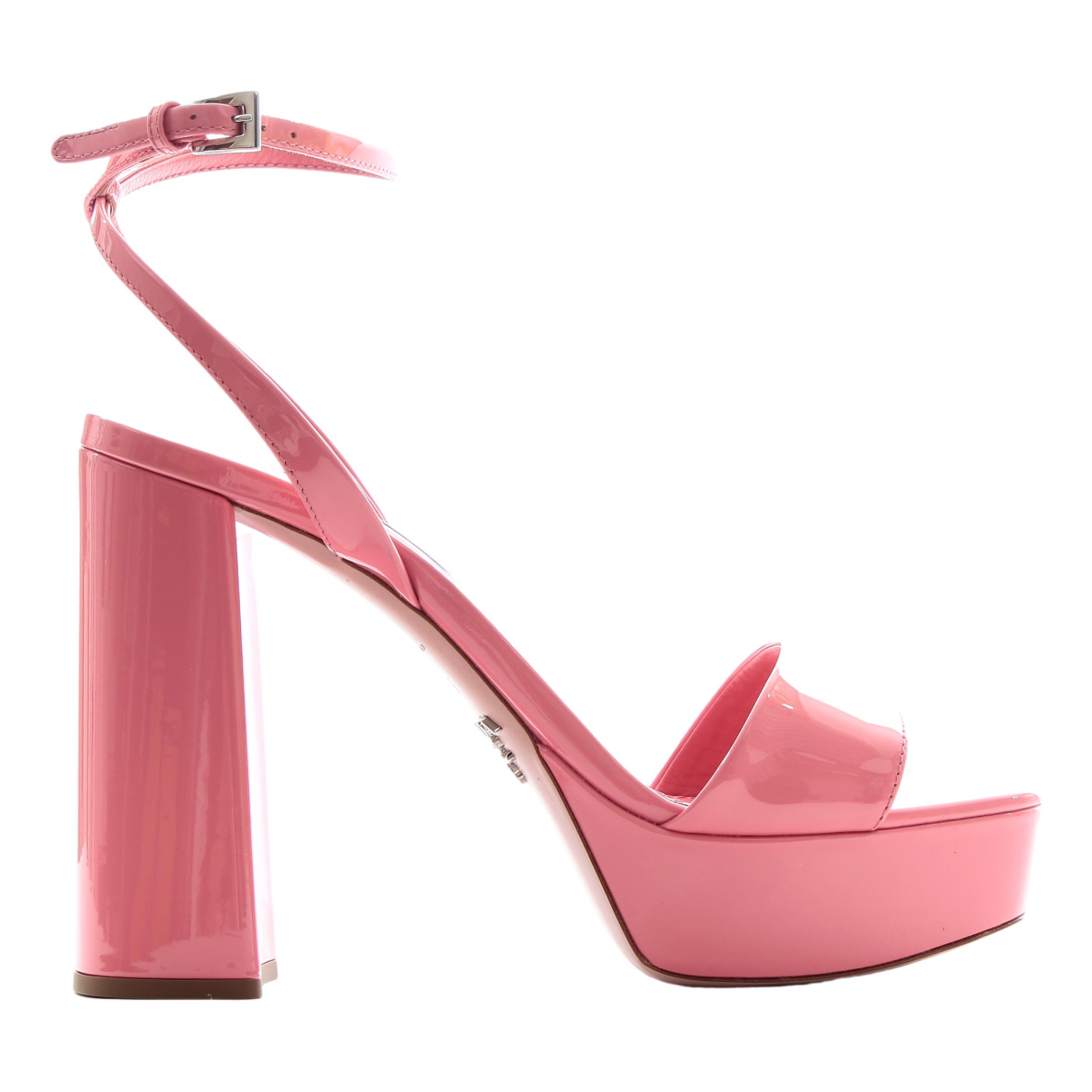 Prada N Pink Patent leather Sandals for Women 36 EU