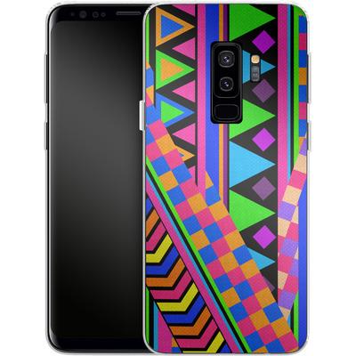 Samsung Galaxy S9 Plus Silikon Handyhuelle - NEON von Bianca Green