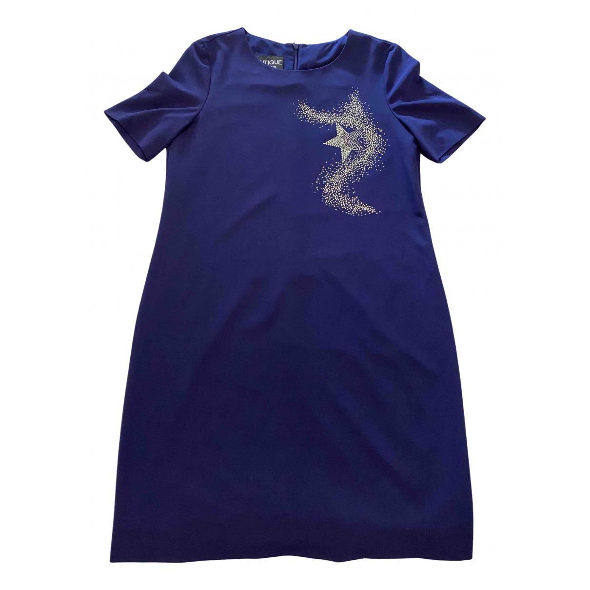 Moschino - Robe   pour femme - bleu