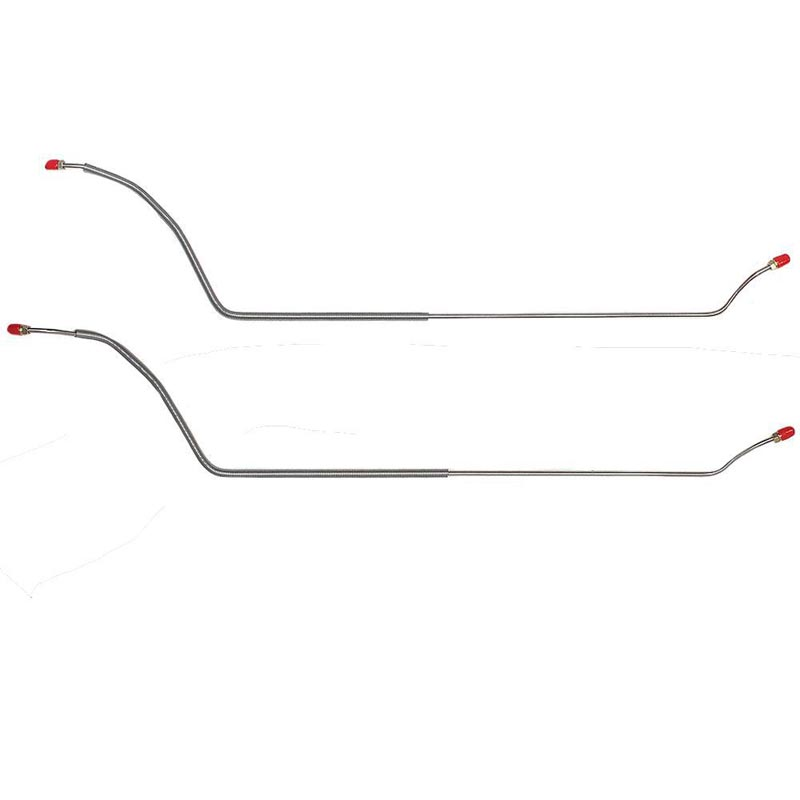 Fine Lines CRA6403OM Rear Axle Brake Lines For 64-67 Chevrolet Chevelle Malibu El Camino 2 Piece Steel