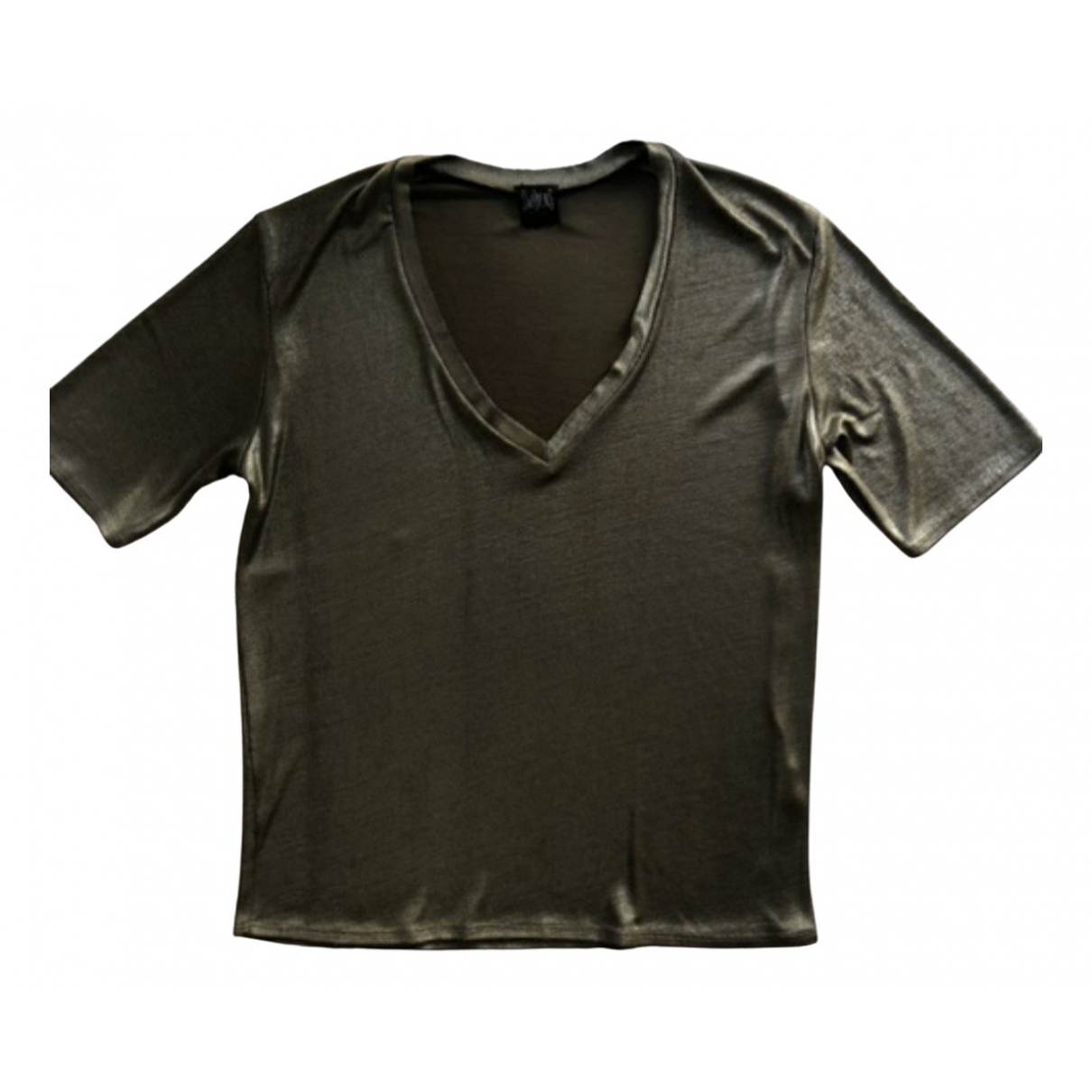 Swildens \N Top in  Khaki Polyester